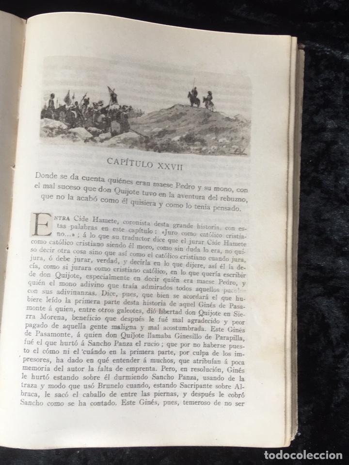 Libros antiguos: DON QUIJOTE DE LA MANCHA - CERVANTES - CALLEJA - COMPLETO - ILUSTRACIONES MANUEL ANGEL - Foto 14 - 165744322