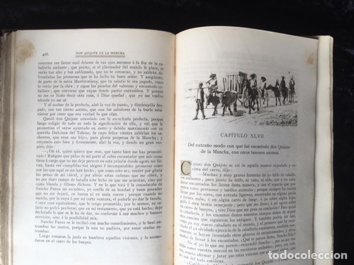 Libros antiguos: DON QUIJOTE DE LA MANCHA - CERVANTES - CALLEJA - COMPLETO - ILUSTRACIONES MANUEL ANGEL - Foto 12 - 165744322