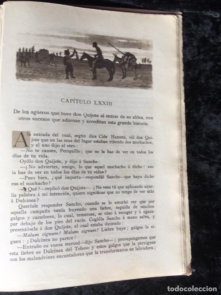 Libros antiguos: DON QUIJOTE DE LA MANCHA - CERVANTES - CALLEJA - COMPLETO - ILUSTRACIONES MANUEL ANGEL - Foto 16 - 165744322
