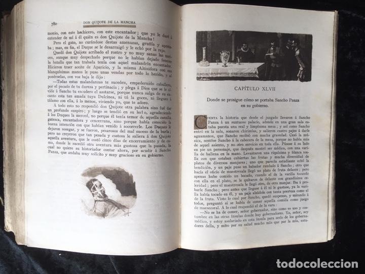 Libros antiguos: DON QUIJOTE DE LA MANCHA - CERVANTES - CALLEJA - COMPLETO - ILUSTRACIONES MANUEL ANGEL - Foto 15 - 165744322