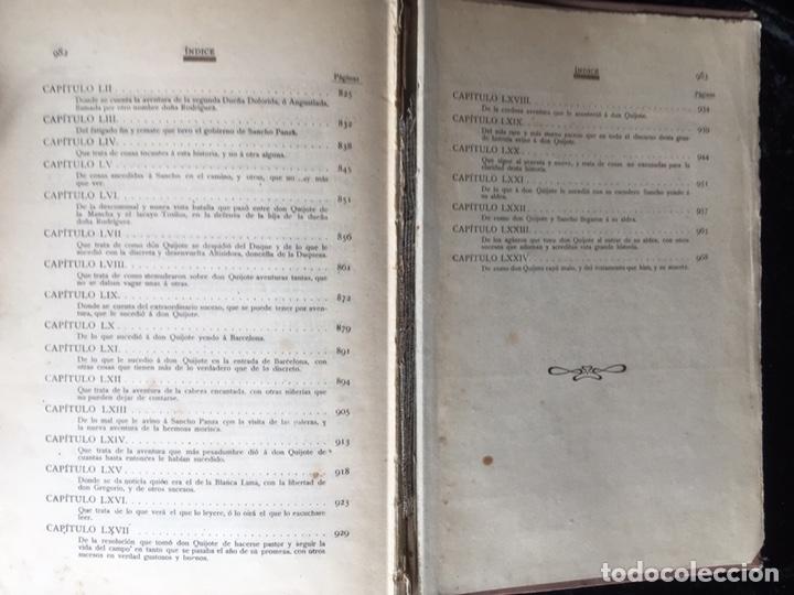 Libros antiguos: DON QUIJOTE DE LA MANCHA - CERVANTES - CALLEJA - COMPLETO - ILUSTRACIONES MANUEL ANGEL - Foto 17 - 165744322