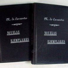 Libros antiguos: CERVANTES. NOVELAS EJEMPLARES. VALLADOLID. 1905. DOS TOMOS.. Lote 165875794