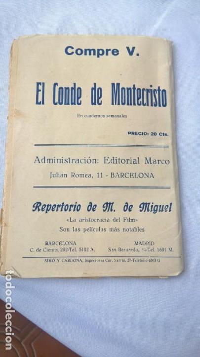 Libros antiguos: Los Miserables por Victor Hugo. Tercera Parte. Ed. Marco Barcelona. 40 Cts. - - Foto 3 - 165927482