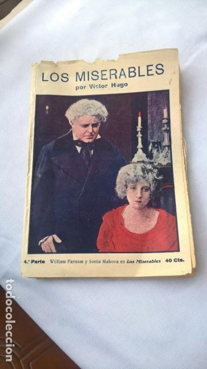 LOS MISERABLES POR VICTOR HUGO. TERCERA PARTE. ED. MARCO BARCELONA. 40 CTS. - (Libros antiguos (hasta 1936), raros y curiosos - Literatura - Narrativa - Clásicos)