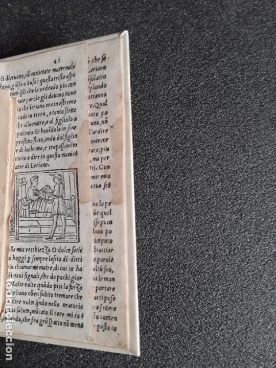 Libros antiguos: SAN PEDRO, Diego de. Carcer damore… Venecia, 1533. Buena traducción al italiano. - Foto 6 - 166101042