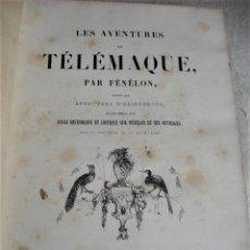 Libros antiguos: FÉNÉLON: LES AVENTURES DE TÉLÉMAQUE. Lote 166153970