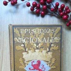 Libros antiguos: PÉREZ GALDÓS. EPISODIOS NACIONALES. TOMO III. ZARAGOZA. NAPOLEÓN EN CHAMARTÍN. EDICIÓN 1882.. Lote 166342462