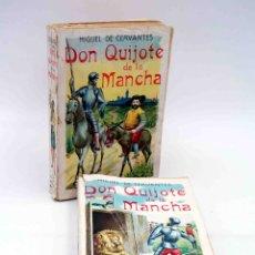 Libros antiguos: DON QUIJOTE DE LA MANCHA. COMPLETO TOMOS I Y II (MIGUEL DE CERVANTES) MAUCCI, 1911. Lote 166802925