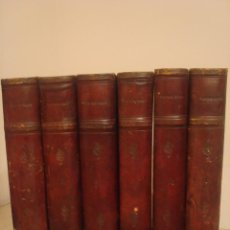 Old books - VICTOR HUGO. OBRAS COMPLETAS. 6 TOMOS. VALENCIA 1887: TERRAZA, ALIENA Y COMPAÑÍA EDITORES. - 167190050