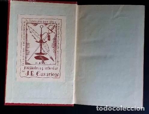 Libros antiguos: POETAS LÍRICOS GRIEGOS: biblioteca clasica / con ex libris de CASARIEGO - Foto 2 - 167236724