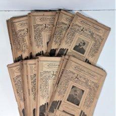 Libros antiguos: LECTURA POPULAR BIBLIOTECA D'AUTORS CATALANS. 29 EJEMPLARES. SIGLO XX.. Lote 167802344