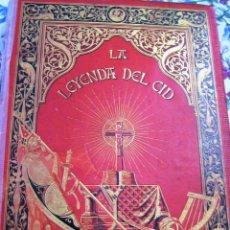 Libros antiguos: LEYENDA DEL CID- ZORRILLA (VERSO) 1882- COLECCIONISTAS Y BIBLIOFILOS- BUEN ESTADO-. Lote 167841832
