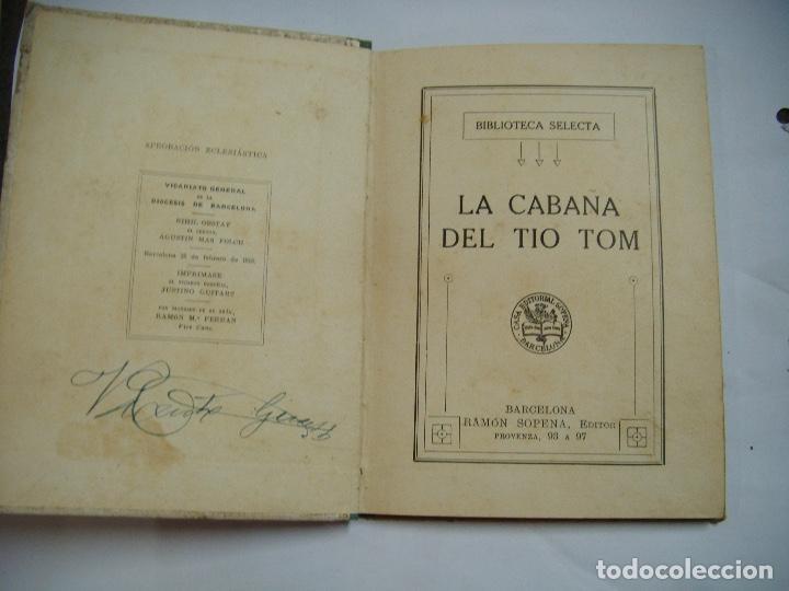 Libros antiguos: La Cabaña del Tio Tom - Foto 2 - 168033276