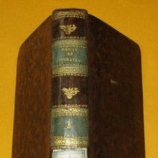 Libros antiguos: OBRAS DRAMÁTICAS Y LÍRICAS. LEANDRO FERNÁNDEZ DE MORATÍN.TOMO 3. 1834. PIEL.2 GRABADOS.409 PÁGINAS.. Lote 168255156