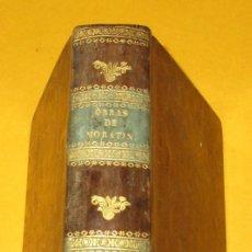 Libros antiguos: OBRAS DRAMÁTICAS Y LÍRICAS. LEANDRO FERNÁNDEZ DE MORATÍN.TOMO 4. 1834. PIEL. 1 GRABADO. 412 PÁGINAS.. Lote 168255592