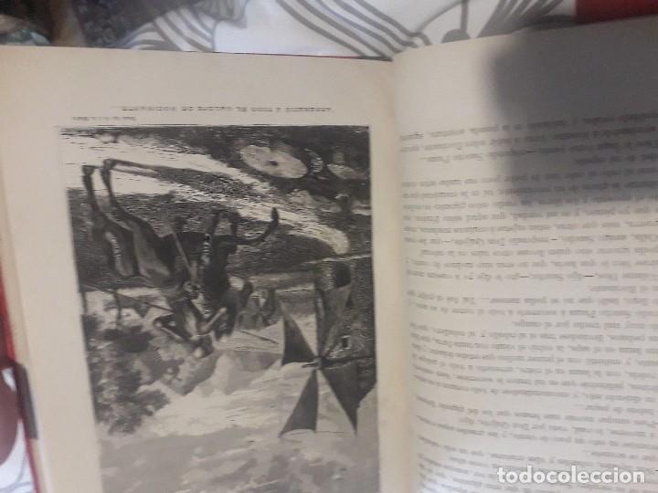 Libros antiguos: Don quijote 1875 2 tomos grabados gran lujo - Foto 3 - 168363112