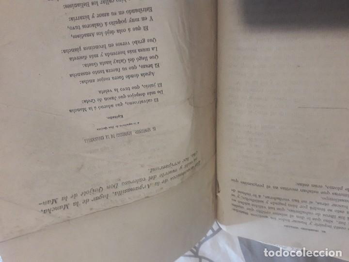 Libros antiguos: Don quijote 1875 2 tomos grabados gran lujo - Foto 7 - 168363112