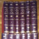 Libros antiguos: OBRAS DE JULIO VERNE - DOCE TOMOS - 70 OBRAS (1870 A 1894) TRILLA, GASPAR, JUBERA.. Lote 168501112