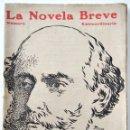 Libros antiguos: HISTORIA DE UNA PARISIENSE - OCTAVIO FEUILLET - LA NOVELA BREVE Nº 34 - NÚMERO EXTRAORDINARIO. Lote 168594776