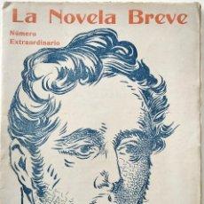 Libros antiguos: REGINA - A. DE LAMARTINE - LA NOVELA BREVE Nº 60 - NÚMERO EXTRAORDINARIO. Lote 168594912