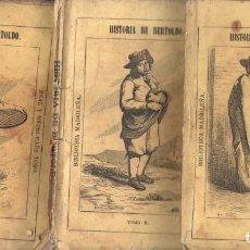 Libros antiguos: HISTORIA DEL RÚSTICO BERTOLDO, SU HIJO BERTOLDINO Y SU NIETO CACASENO -3 TOMOS (BIBL MADRILEÑA 1873). Lote 168739576