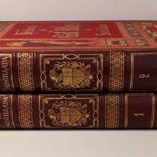 Libros antiguos: HISTORIA DE GIL BLAS DE SANTILLANA. TOMOS I Y II. EDIT. ESPASA Y CIA. S/F.. Lote 168788396