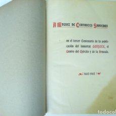 Libros antiguos: DON QUIJOTE DE LA MANCHA. CERVANTES. EDICION JUAN ANTONIO PELLICER. MADRID, 1905. NUMERADO. Lote 169155032