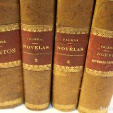 Libros antiguos: OBRAS DE DON JUAN VALERA. 1887-1901 PROLOGO DE ANTONIO CANOVAS DEL CASTILLO. Lote 126055855