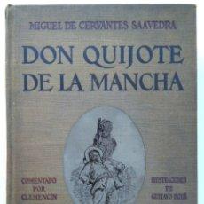 Libros antiguos: DON QUIJOTE DE LA MANCHA -CERVANTES -ILUSTRACIONES DE GUSTAVO DORÉ. Lote 169292404