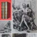 Libros antiguos: AÑO 1836 - 26 CM - DON QUIJOTE DE LA MANCHA - COMPLETO - 800 GRABADOS - ILUSTRADO POR TONY JOHANNOT. Lote 169350816