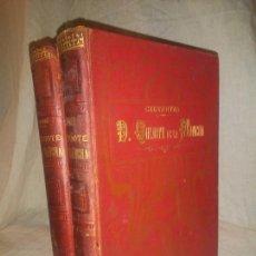 Libros antiguos: DON QUIJOTE DE LA MANCHA - CERVANTES - AÑO 1897 - ILUSTRACIONES PAHISA Y SERIÑA.. Lote 169440128