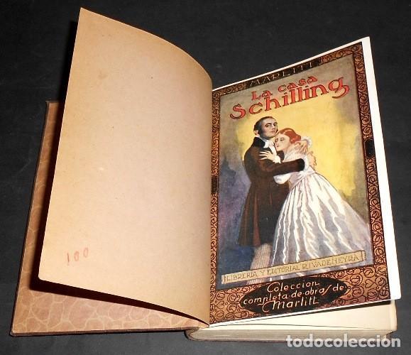 Libros antiguos: LA CASA SCHILLING. EUGENIA MARLITT. OBRAS COMPLETAS (XI). EDITORIAL RIVADENEYRA. AÑOS 20. - Foto 2 - 169553244