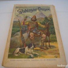 Libros antiguos: ROBINSON CRUSOE SOPENA. Lote 169990956