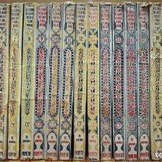Libros antiguos: EL LIBRO DE LAS MIL Y UNA NOCHES. VERSIÓN DE BLASCO IBÁÑEZ (22 VOL). PROMETEO, 1899.. Lote 170175356