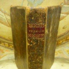 Libros antiguos: AVENTURES DE TÉLÉMAQUE, DE FENELON. EN FRANCÉS CON GRABADOS.. Lote 170513588