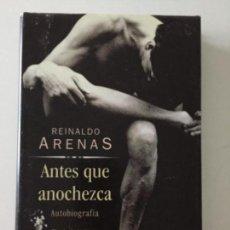 Libros antiguos: REINALDO ARENAS - ANTES QUE ANOCHEZCA - CÍRCULO DE LECTORES #58. Lote 171097830