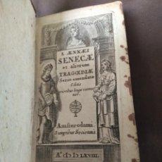 Libros antiguos: 1568. TRAGEDIAS DE SÉNECA.. Lote 171106905