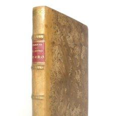 Libros antiguos: 1914 - APULEYO: LA METAMORFOSIS Ó EL ASNO DE ORO - TRADUCCIÓN CASTELLANA DEL SIGLO XV - PLENA PIEL. Lote 171368597