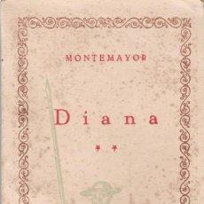 Libros antiguos: DIANA DE SOTOMAYOR 2 TOMOS. Lote 171998815