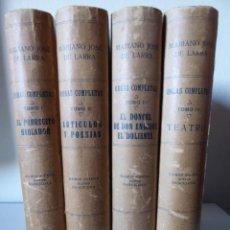 Libros antiguos: MARIANO JOSÉ DE LARRA 'FÍGARO' - OBRAS COMPLETAS (4 VOLÚMENES) - BIBLIOTECA SOPENA 1921. Lote 172106017