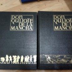 Libros antiguos: DON QUIJOTE DE LA MANCHA 2 TOMOS -ESPASA CALPE -ILUSTRADOS JOSE SEGRELLES -1979. Lote 172115243