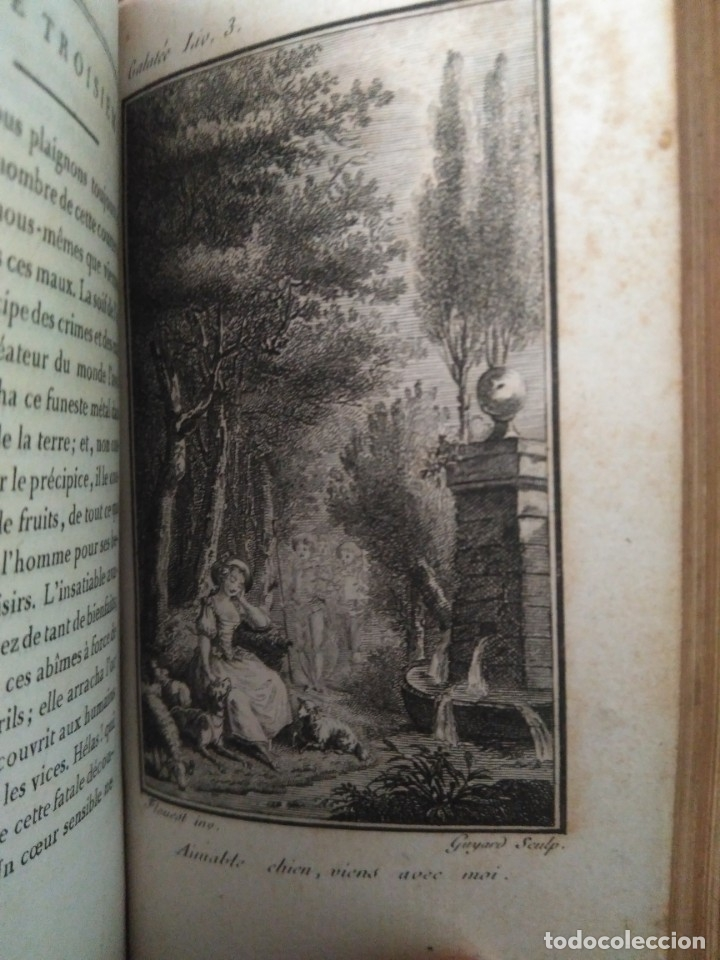 Libros antiguos: 1784. Galatea. M. De Florian. Bonita edición. - Foto 8 - 172153970