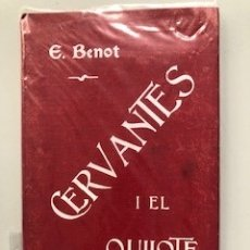 Libros antiguos: ESTUDIO ACERCA DE CERVANTES I EL QUIJOTE - EDUARDO BENOT, MADRID, 1905. Lote 172240710