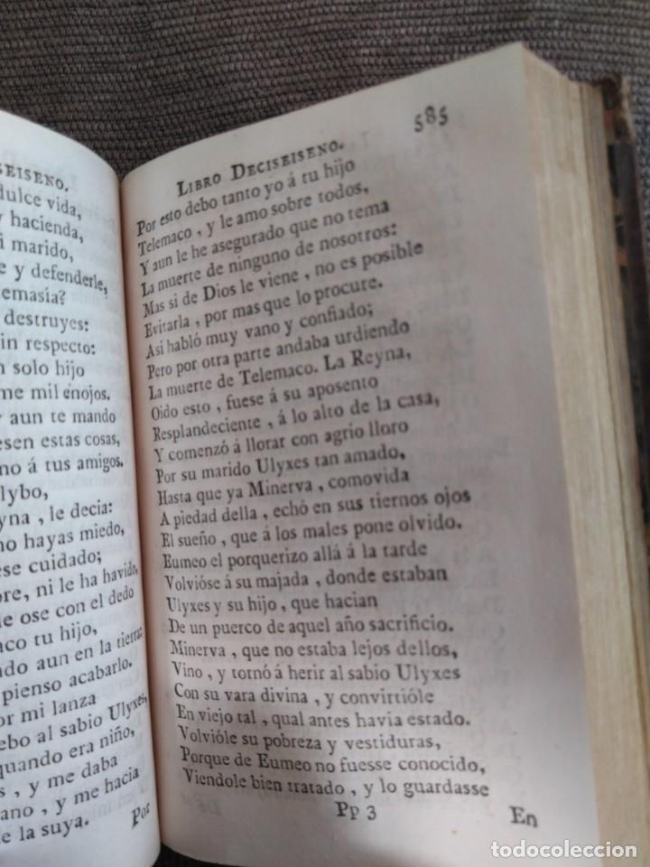 Libros antiguos: 1767. La Ulixea de Homero. Tomo II. Traducción de Gonzalo Pérez. - Foto 4 - 172299758