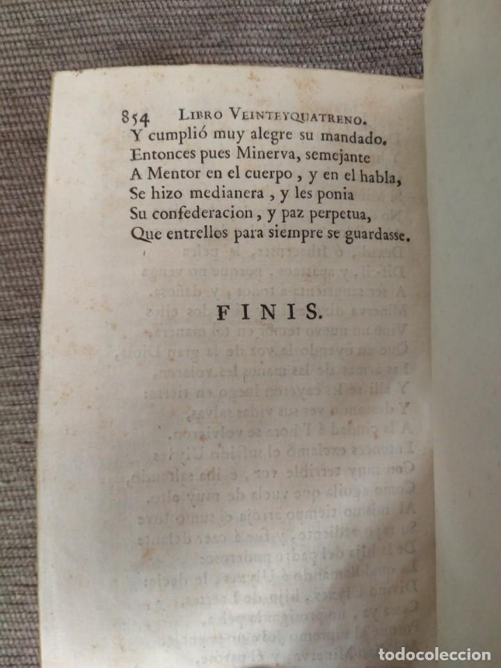 Libros antiguos: 1767. La Ulixea de Homero. Tomo II. Traducción de Gonzalo Pérez. - Foto 5 - 172299758