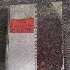 Libros antiguos: 1905. FACSÍMIL DON QUIJOTE. TOMO I. LIBRERÍA CIENTÍFICO-LITERARIA.. Lote 172304540