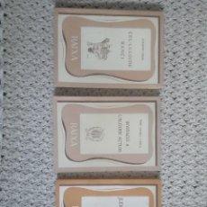 Libros antiguos: TRES LLIBRES DE RAIXA. AUTORS PERE CATALÀ ROCA, JOAQUÍM CASAS I JOAN FUSTER.. Lote 173242837