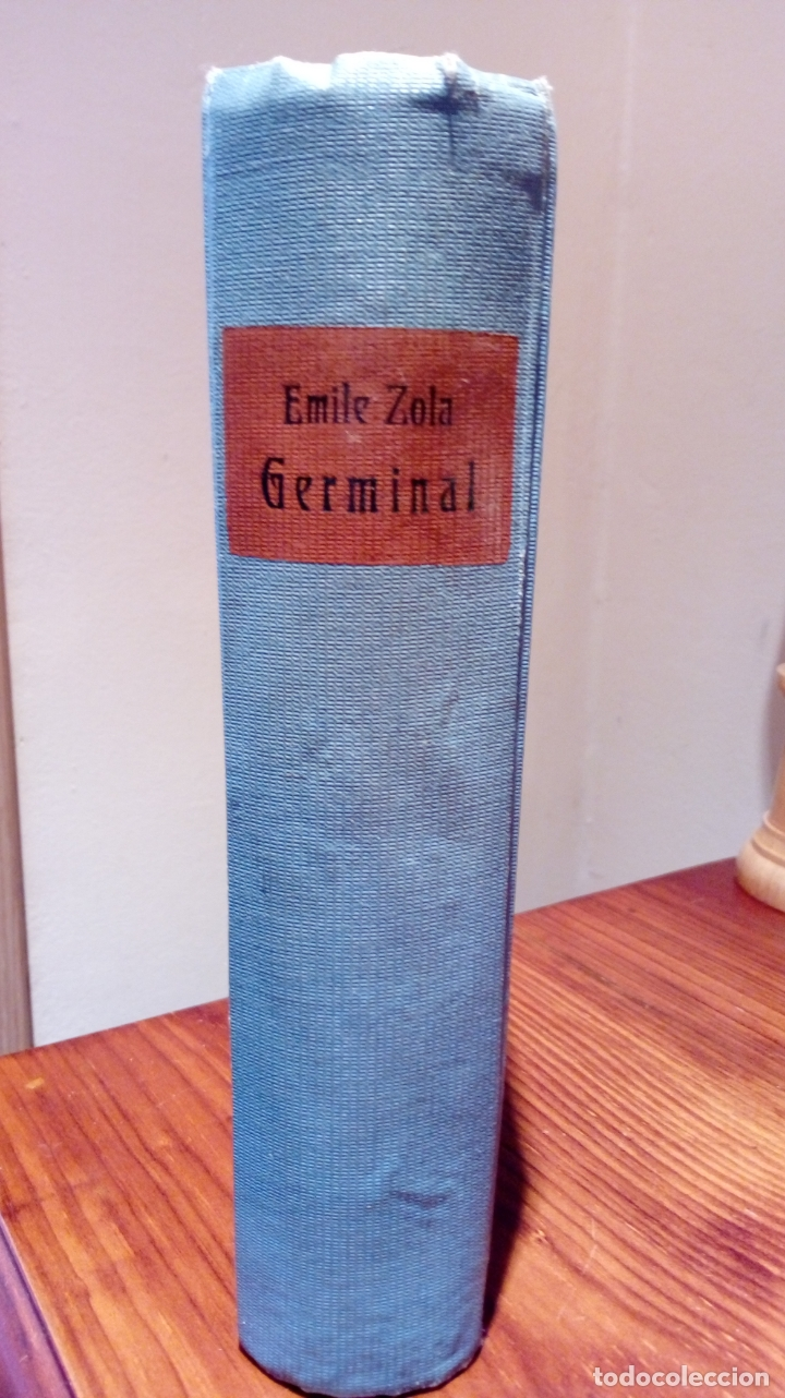 Libros antiguos: EMILE ZOLA GERMINAL. EDICIÓN ALEMANA DE 1921 LETRA GÓTICA. Texto en alemán - Foto 5 - 173652323