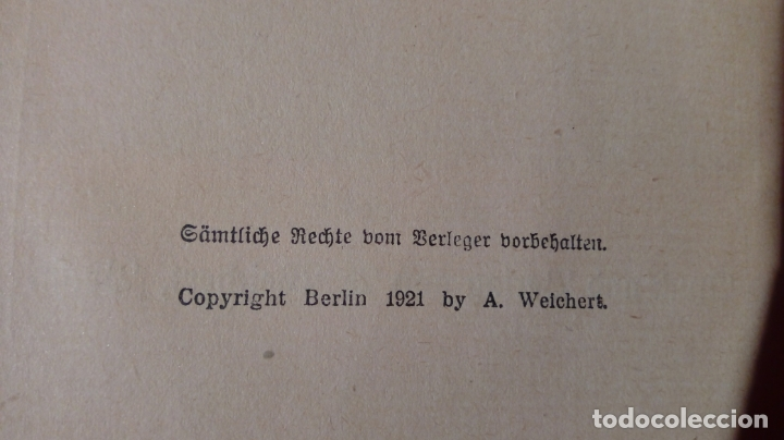 Libros antiguos: EMILE ZOLA GERMINAL. EDICIÓN ALEMANA DE 1921 LETRA GÓTICA. Texto en alemán - Foto 3 - 173652323