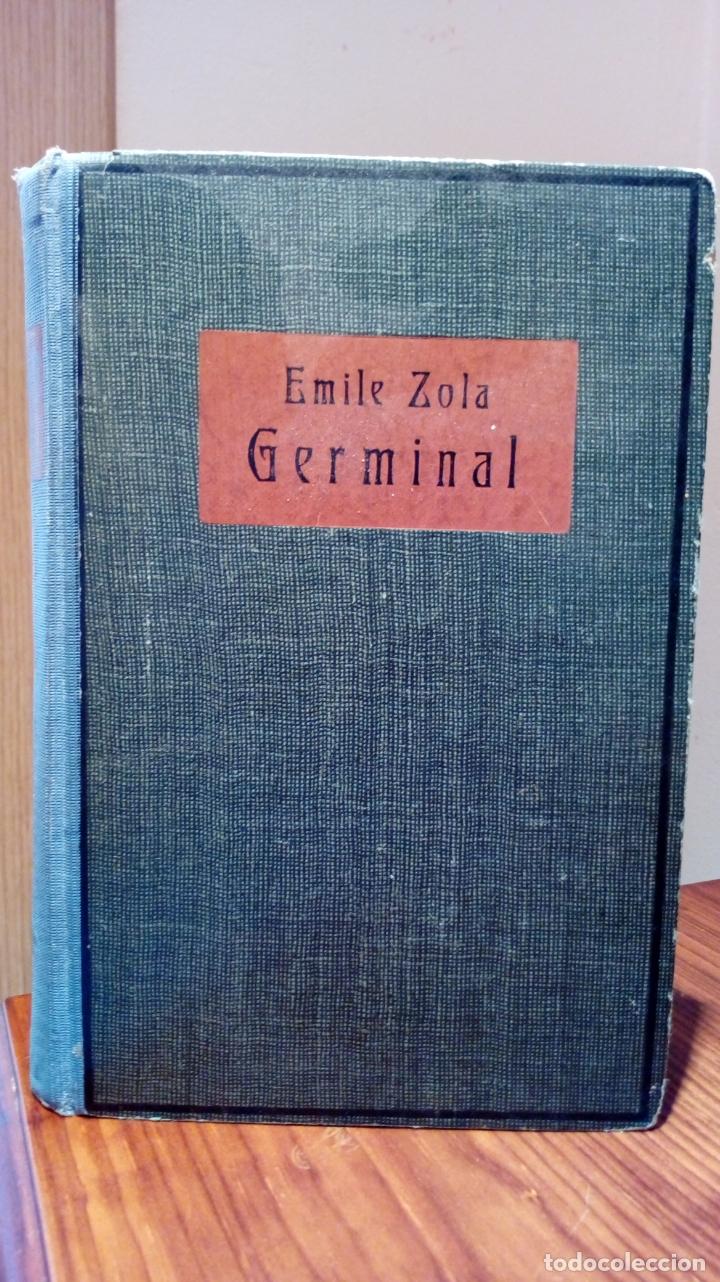 EMILE ZOLA GERMINAL. EDICIÓN ALEMANA DE 1921 LETRA GÓTICA. TEXTO EN ALEMÁN (Libros antiguos (hasta 1936), raros y curiosos - Literatura - Narrativa - Clásicos)
